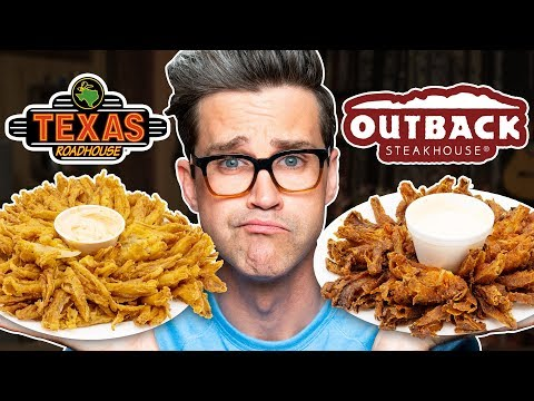 Download Texas Roadhouse vs. Outback Steakhouse Taste Test | FOOD FEUDS HD Mp4 3GP Video and MP3