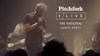 "The National perform ""Guilty Party"" at Le Centquatre in Paris for an intimate Pitchfork Live Session------