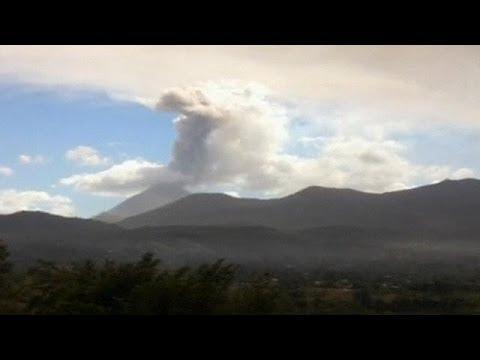 حالة تأهب في السلفادور بعد بدء ثوران بركان - فيديو