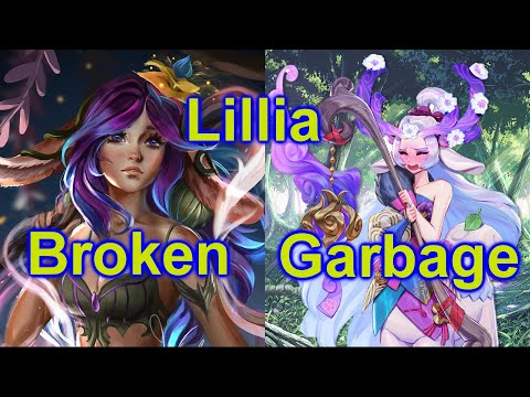 Why Lilia is Broken in Pro but seems Garbage in Solo Q