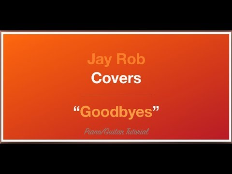 Goodbyes Jorja Smith Guitar/Piano Tutorial