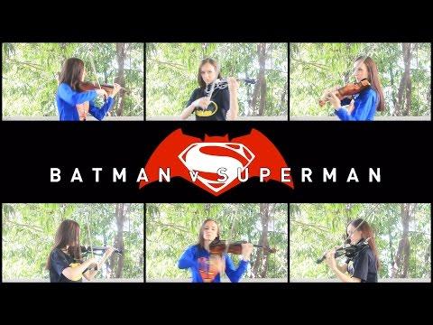 Batman V Superman - Title Theme Cover by Anastasia Soina Violin