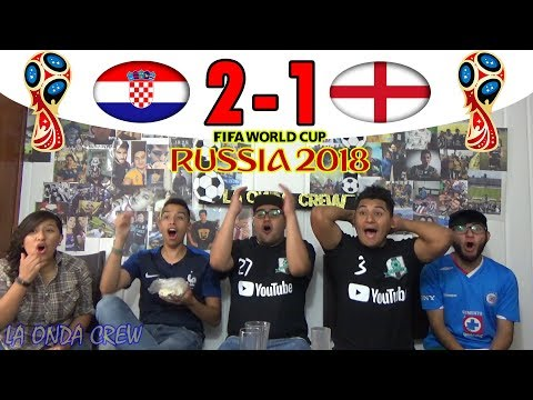 ¡A LA FINALITIĆ! REACCIÓN CROACIA VS INGLATERRA 2-1