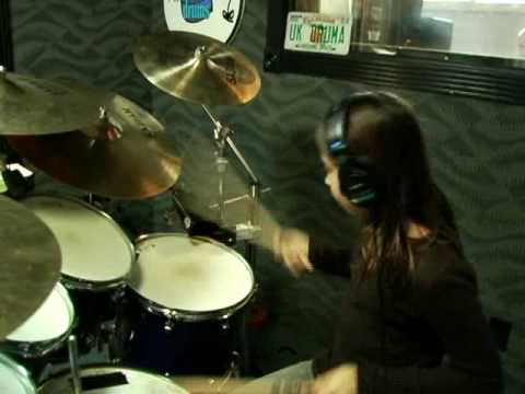 Natalie Depergola 10 Year Old Drumming Phenomenon Nashville Session