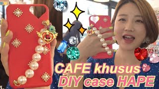 Video 🎀 DIY case hape di cafe Korea = 150rb Rp MP3, 3GP, MP4, WEBM, AVI, FLV November 2018