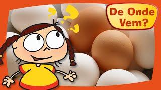 Kika quer saber de onde vem o ovo.Kika descobre que os ovos percorrem um longo caminho da granja até as nossas casas.Inscreva-se no canal!https://www.youtube.com/c/DeOndeVemDe Onde Vem é uma produção da TV PinGuim, dos mesmos criadores de Peixonauta e O Show da Luna.