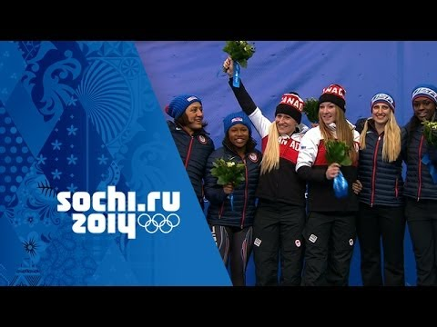 Bobsleigh – Women's Bobsleigh Heats 3&4 – Canada Win Gold | Sochi 2014 Winter Olympics