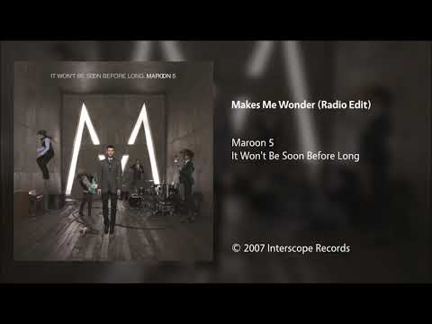 Maroon 5 - Makes Me Wonder (Radio Edit)