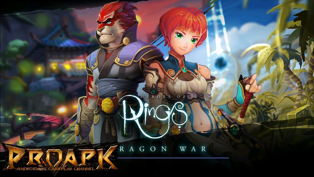 Heroes of Rings: Dragons War - Fantasy Quest Games