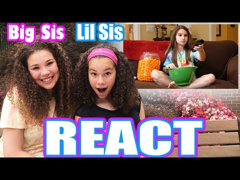 "Big Sister & Little Sister REACT to ""She Gets Away With Everything"" by Mimi & Daniela"