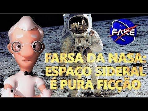 PROFESSOR TERRA PLANA * A FARSA DA NASA: O ESPAÇO SIDERAL É PURA FICÇÃO ( DOCUMENTÁRIO PARTE 1/2)