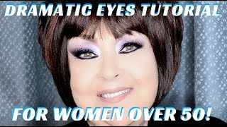 In this STEP BY STEP BEAUTY TUTORIAL I will demonstrate an EXTREMELY DRAMATIC SMOKEY EYE FOR WOMEN OVER 50. This particular makeup look is great for women of...