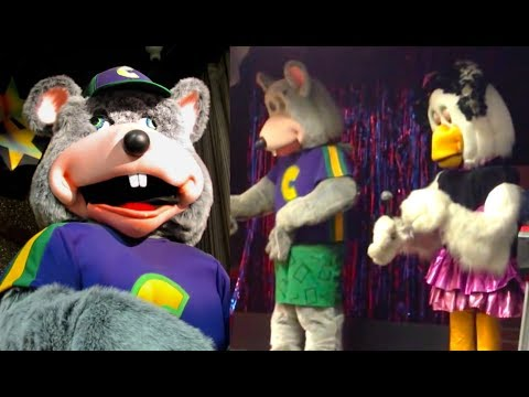 Top 10 Chuck E Cheese Animatronic Malfunctions | Chuck E. Cheese History (видео)