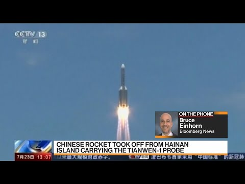 China Launches Mars Mission in New Space Challenge to U.S.
