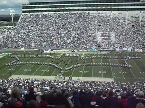 Moving Pictures: Penn State Blue Band Halftime Show (Eastern Illinois Game 10-10-09)