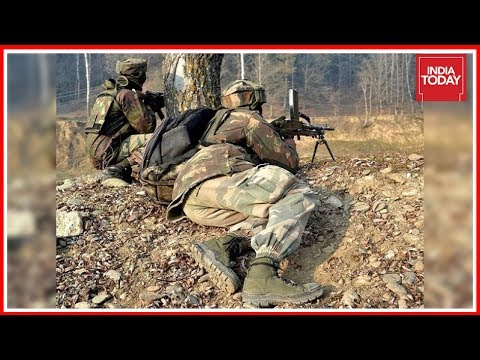 Suicide Attack On CRPF HQ Foiled In Bandipora ; 4 Terrorists Killed