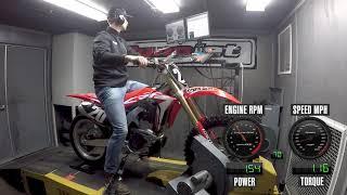 10. 2019 Honda CRF250R Dyno Test