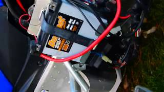 5. Changing the chain case fluid in 2008 phazer