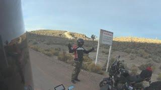 Area 51 Line Crossed by Bikers - FindingUFO