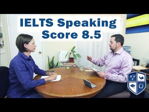 Speaking - An IELTS speaking section example by www.aehelp.com. This video is an IELTS speaking section interview with a native English speaker. This playlist teaches i...