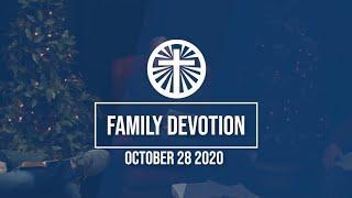 Family Devotion October 28 2020