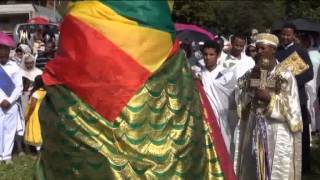 Ethiopean Orthodox Tewahdo Debre Genet Kdst Maryam Church Zurich Meskel Celebration