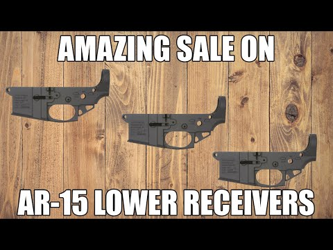 Screaming Deals On AR-15 Lower Receivers