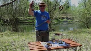 Die Bachforelle, Fliegenfischen in Polen an Fluss Raba 2020