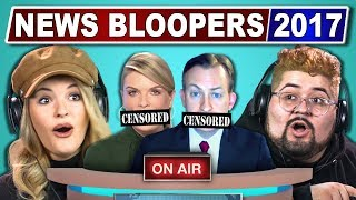 Video COLLEGE KIDS REACT TO FUNNIEST NEWS BLOOPERS 2017 download in MP3, 3GP, MP4, WEBM, AVI, FLV January 2017