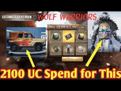WOLF WARRIORS | CUSTOMIZED LUCKY DRAW