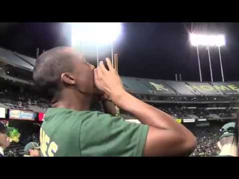 What Life Is Like In the A's Right Field Bleachers