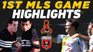 First-Ever MLS Game: San Jose Clash vs. D.C. United | 1996 Classics Highlights by Major League Soccer