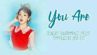 Download Lagu 승희 (Seunghee) – You Are [Han|Rom|Eng] Lyrics Temperature of Love OST Part 1 Mp3