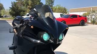3. 2011 Yamaha R1 / 3/4 Leo Vince Exhaust Sound Clip