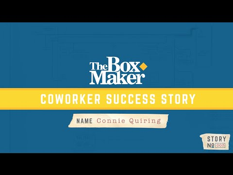 Coworker Success Stories - Connie Quiring