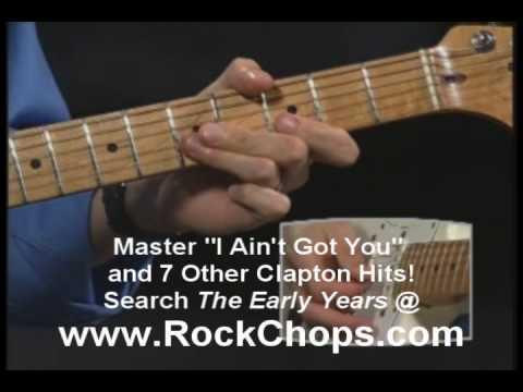 Tekst piosenki Eric Clapton - I Ain't Got You po polsku