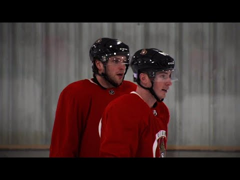 Video: Senators' Ryan & Duchene excited to build chemistry together