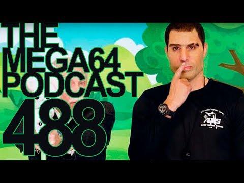 MEGA64 PODCAST 488 - SOCCER VS. COMIC CON VS. PREDATOR