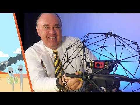 Flyability Elios Confined Space Drone Unboxing and Setup Review