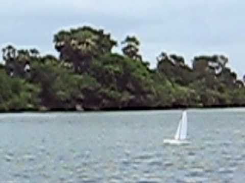 RT65 Race Trimaran - Windy Day - Clip 1