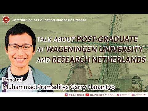 Talk About Post-Graduate at Wageningen University and Research Netherlands