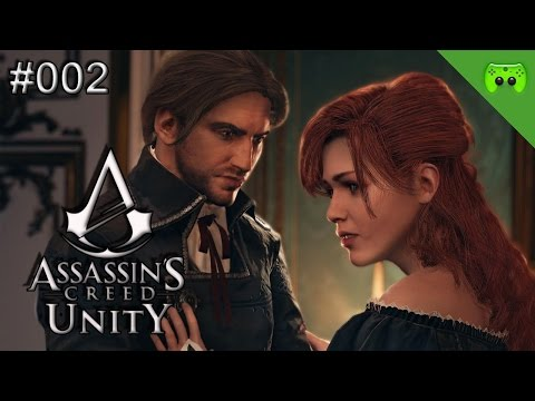 Assassins Creed: Unity # 002 - «Der Partycrasher» Let's Play AC: Unity| FULLHD