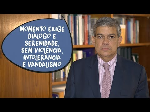 Marcus Pestana: Brasil exige serenidade sem violência