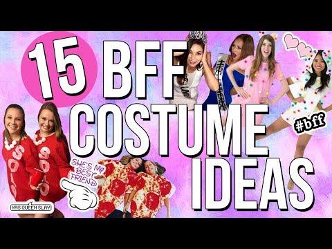 15 BFF Costume Ideas 2017! Best Friend Halloween Costumes!