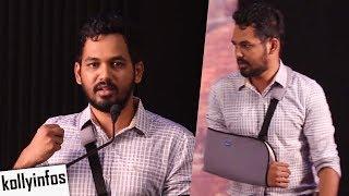Video Hiphop Tamizha Adhi Speech at Kalakalappu2 Press Meet MP3, 3GP, MP4, WEBM, AVI, FLV Januari 2018