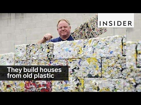 ecco i mattoni ecologici di plastica riciclata