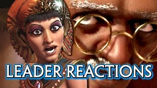 Video Civilization 6 🌟 All Leaders Cutscenes of Reacting to War & Meeting the Player MP3, 3GP, MP4, WEBM, AVI, FLV Maret 2018