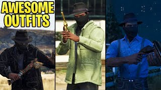 GTA Online FASHION FRIDAY (RDR2 Cowboy Outfits, Club VIP, Cyber-Hacker & More)