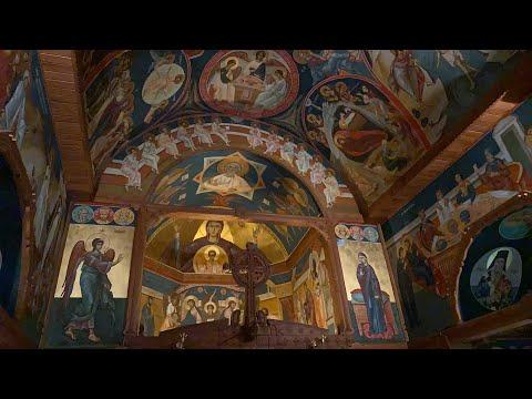 2020.03.25 DIRECT 12h Bunavestire, Sfanta Liturghie - Divine Liturgie, Limours