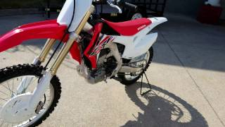 8. 2017 Honda CRF250R Walk-Around Video | CRF Dirt Bike / Motorcycle Reviews @ HondaProKevin.com
